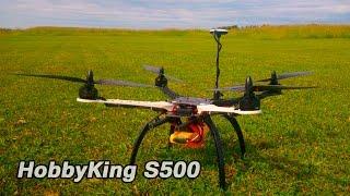 getlinkyoutube.com-Сборка квадрокоптера HobbyKing S500