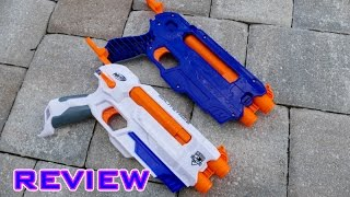 getlinkyoutube.com-[REVIEW] Nerf Elite Splitstrike Unboxing, Review, & Firing Test