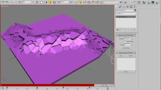 Interactive Fractured System Tutorial - No commercial plugins needed - 3dsmax 2009 720p