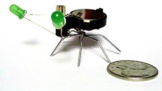 getlinkyoutube.com-How to make a mini bug robot?