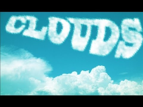 Photoshop CS6: Cloud Text Effect / Typography