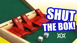 getlinkyoutube.com-Make a wood Shut-the-Box game.