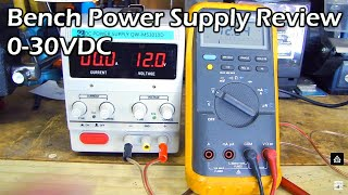 getlinkyoutube.com-Bench Power Supply Full Review (variable 0-30V & 0-10A)