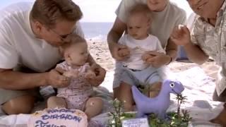 getlinkyoutube.com-Arnold Schwarzenegger eats cake from a baby's foot