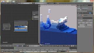 getlinkyoutube.com-Blender Tutorial: Lego Fluid Effect