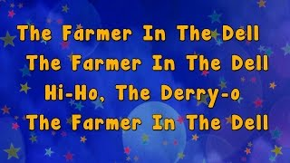getlinkyoutube.com-Karaoke - The Farmer in the Dell Rhyme | Karaoke Rhymes