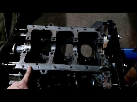 Nissan Terrano 1 wd21 VG30 1я часть ремонт двигателя сборка шорт-блока
