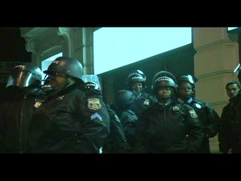 Riot Police and Firefighters - Phillies World Series Clip 3