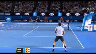 getlinkyoutube.com-Andy Murray arguing with Roger Federer and Empire Australian Open 2013 - YouTube