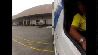 getlinkyoutube.com-Reversing My B Double  Truck To Be Unloaded