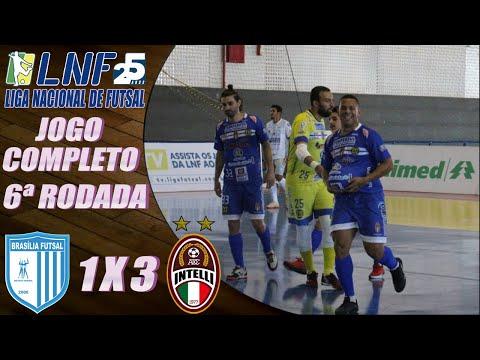 JOGO COMPLETO: Brasília Futsal 1 x 3 Intelli - 6ª Rodada LNF 2020 (11/09/2020)