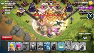 getlinkyoutube.com-j'attaque le plus gros lvl de clash of clans ( lvl 240 ) THOR