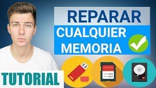 getlinkyoutube.com-REPARAR Memoria dañada Sin Formatear | Pendrive, USB, Tarjeta SD, Disco Duro