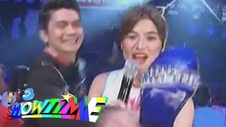 getlinkyoutube.com-Anne's slippers were hid by Vhong