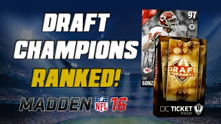getlinkyoutube.com-Ranked Draft Champions Info! | Madden 16 Ultimate Team - Awesome New Mode