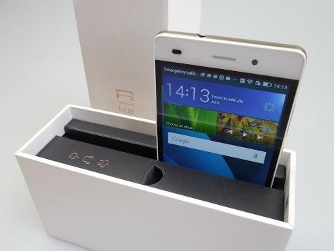فتح صندوق ونظرة اولى على هاتف هواوي بي 8 لايت | Huawei P8 Lite