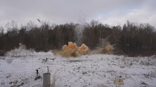 ATM vs. 30lbs of Tannerite - Totally Obliterated