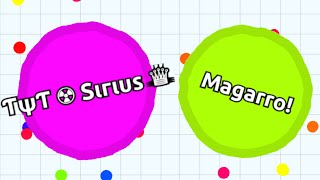 Agario // TEAMING WITH MAGARRO // Awesome agar.io Teamwork!