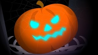 getlinkyoutube.com-Scary Pumpkin Halloween Nursery Rhyme And Kids Songs
