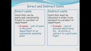 Cost & Management Accounting: Basic Cost Management Concepts (Part 1)