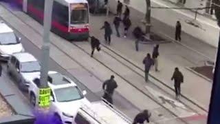 getlinkyoutube.com-Rapid Wien vs. Austria Wien hooligans fighting