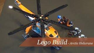 getlinkyoutube.com-Lego City Arctic Helicrane Set #60034 - Unboxing and Build