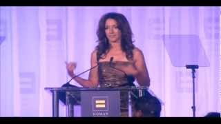 Jennifer Beals receives the HRC Ally for Equality Award