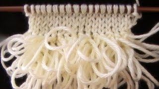getlinkyoutube.com-Como Tejer Punto Bucle o Rulo-How to Knit the Loop Stitch (123)