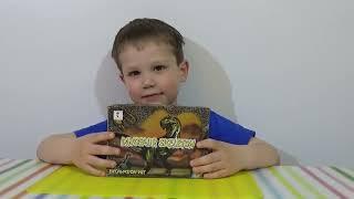 getlinkyoutube.com-Раскопки динозавра набор ищем динозавра игрушка распаковка set for dinosaur excavation kit