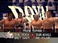 WWF Wrestlemania 2000 Matches - The Rock vs Bret Hart vs Shawn Michaels vs Ric Flair