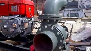 getlinkyoutube.com-Pompa banjir Yanmar Matsuko H200CP