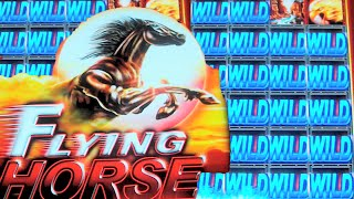 getlinkyoutube.com-Flying Horse WILD CITY - NEW SLOT MACHINE Bonus + Live Play + Bonus!