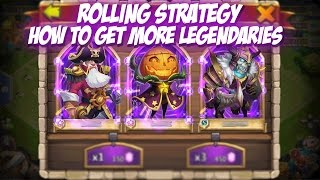 getlinkyoutube.com-Castle Clash: Rolling Strategy (Get more Legends)