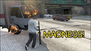 getlinkyoutube.com-FUNNIEST GTA 5 GAMEPLAY EVER!? [MADNESS]