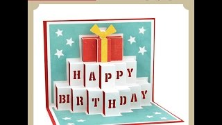 getlinkyoutube.com-Pop Up Card Birthday
