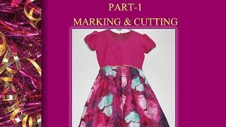 getlinkyoutube.com-How to make a Frock_ Part 1_ Cutting