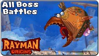 getlinkyoutube.com-Rayman Origins All Bosses