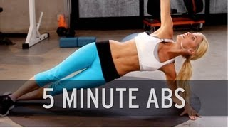 getlinkyoutube.com-How to Lose Belly Fat: 5 Minute Abs