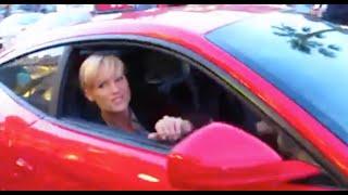 getlinkyoutube.com-Ferrari F12 Berlinetta with Michelle Hunziker on! Montecarlo