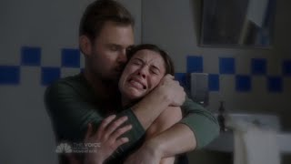 getlinkyoutube.com-Chicago P.D. 2x15 Kim Burgess and Adam Ruzek Heartbreak Crying Scene