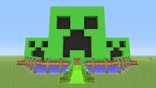 getlinkyoutube.com-Minecraft - Awesome CREEPER!!! Survival House #32