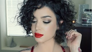 getlinkyoutube.com-GRWM | Sexy Winter Glam