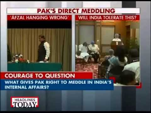 Direct meddling with India: Pak passes resolution against Afzal Guru's hanging