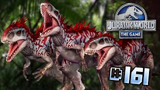 Indominus Rex TRIPLE THREAT!! || Jurassic World - The Game - Ep 161 HD