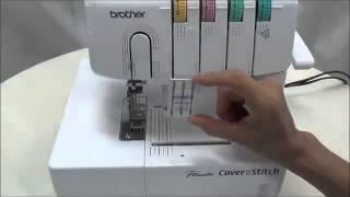 getlinkyoutube.com-Máquina de Costura Galoneira Brother 2340CV