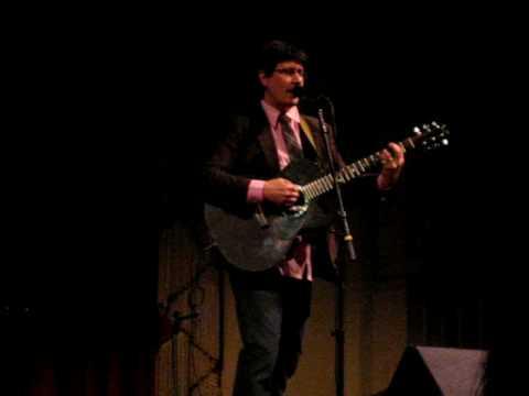 John Darnielle: Ox Baker Triumphant at Herbst Theatre in SF 02.24.09
