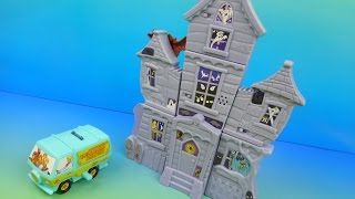 getlinkyoutube.com-2015 SCOOBY-DOO and THE HAUNTED MANSION SET OF 8 BURGER KING KIDS MEAL TOYS VIDEO REVIEW