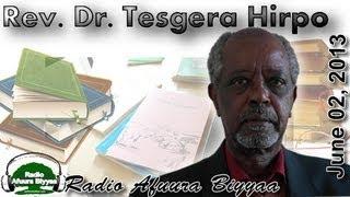 Radio Afuura Biyyaa: Interview with Rev. Dr. Tasgara Hirpo