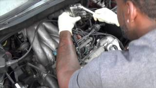 getlinkyoutube.com-How to::: Lexus RX300  Valve cover gasket replacement