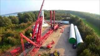 getlinkyoutube.com-Mammoet   Liebherr LTM 11200 9.1 1200 ton's